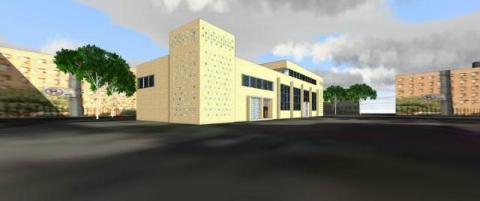 Nieuwbouw Moskee Al-Ihsane